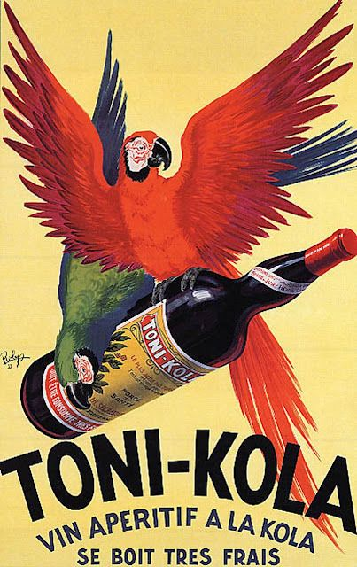 Tropical Living: Happy Hour - Vintage Posters