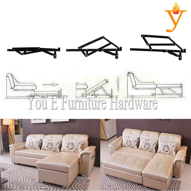 Extensible Sofa Bed Mechanism Hinge D13-in Cabinet Hinges from Home Improvement on Aliexpress.com | Alibaba Group