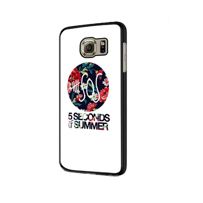 5 Second of Summer Floral Samsung Galaxy S6|S6 Edge Cases