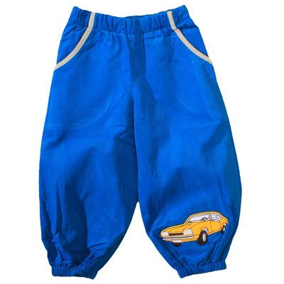 Krutter - pants with car application, SS15