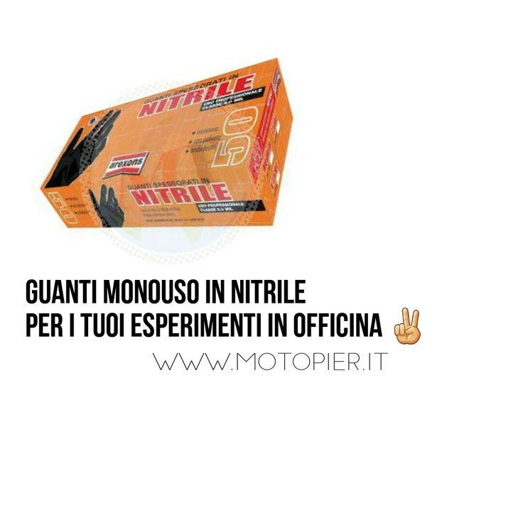 Guanti in nitrile monouso rinforzati. Confezione da 50 pezzi a € 19.99!!!  Per i tuoi esperimenti in garage! Fai bella la tua moto 😎  http://www.motopier.it/ecomm/index.php/mpagn50r.html