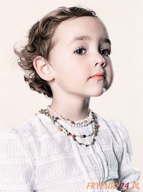 Fryzury Dla Dziewczynek Krótkie Włosy Fryzury Childrens Haircuts