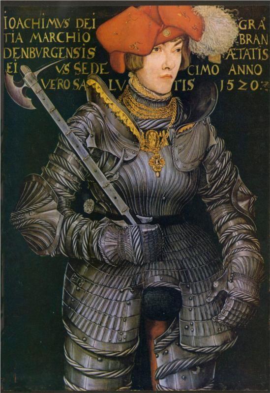 Portrait of Joachim II, 1520, Lucas Cranach the Elder