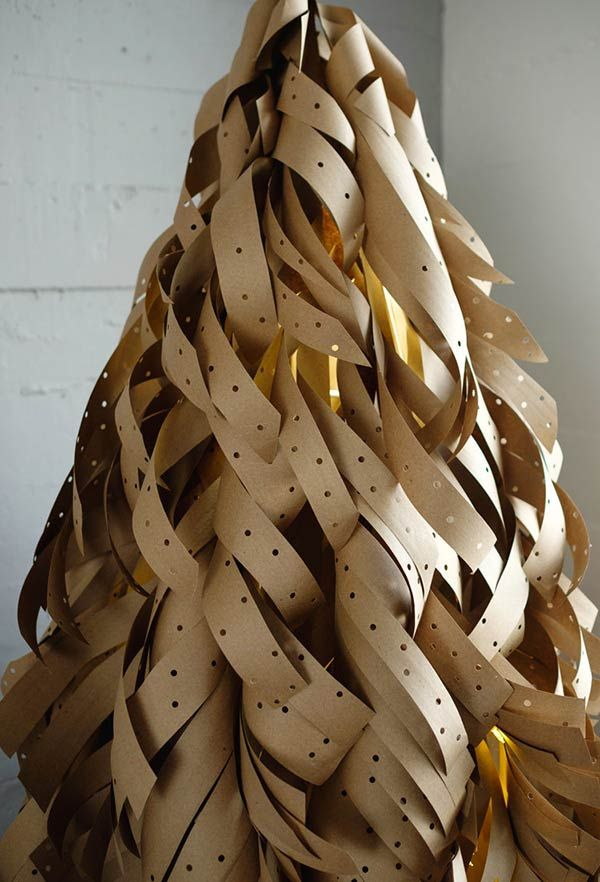 Arvore De Natal Grande Com Papel Craft Arvore De Natal