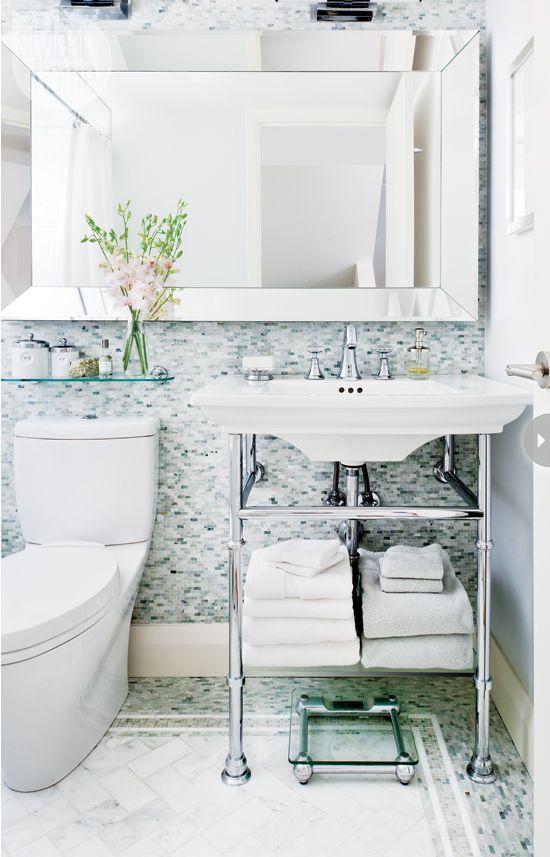Cuarto de baño decoración: Luxe retiro