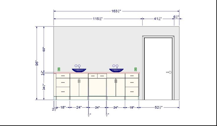 nice standard bathroom vanity dimensions finally a plinth