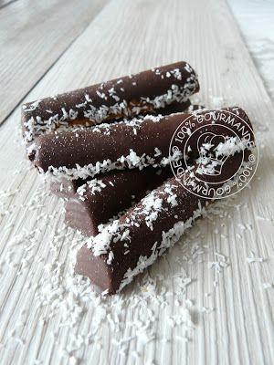 100%Gourmande . : Fingers Flexipan façon Bounty