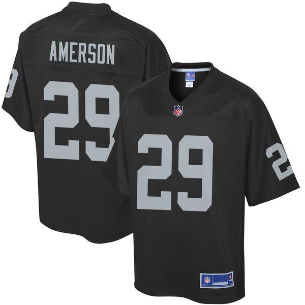 David Amerson Oakland Raiders NFL Pro Line Youth Player Jersey - Black - $74.99