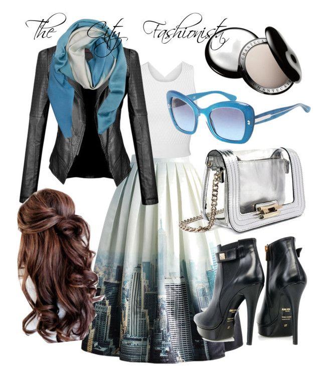 City Fashionista by raluca-belu on Polyvore featuring polyvore, fashion, style, Jonathan Simkhai, Chicwish, Kim Kwang, Mohzy, Kelly Wearstler, Dolce&Gabbana and Chantecaille