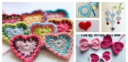 8 Heart Free Crochet Patterns You'll Love