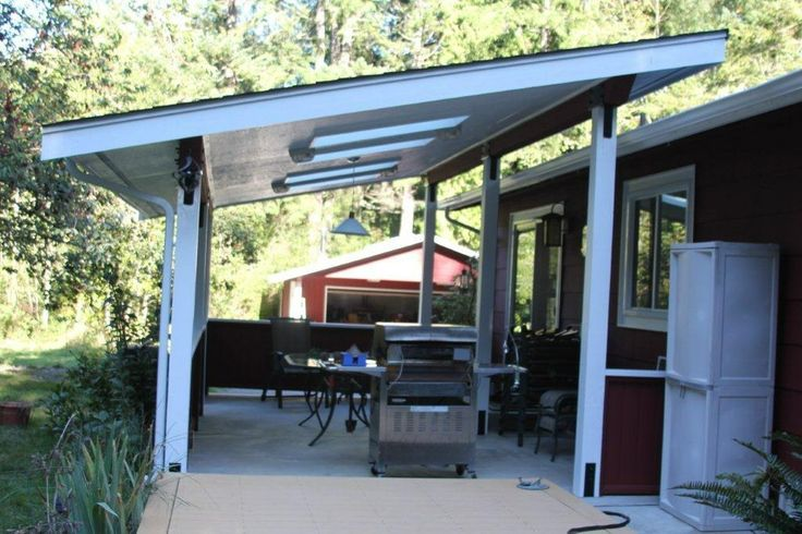 Good Looking Mid Century Esque Patio Cover Patio Covers