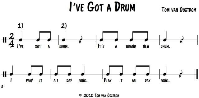 Ive Got a Drum