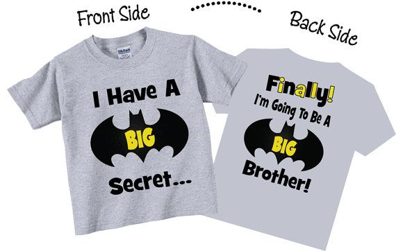 I Have A Secret I'm Going To be A Big Brother Shirts by TheCuteTee, $14.95