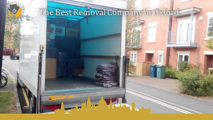The Best Removal Company in Oxford