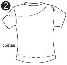 Como transformar ropa -playeras ~ Solountip.com                                                                                                                                                      Más