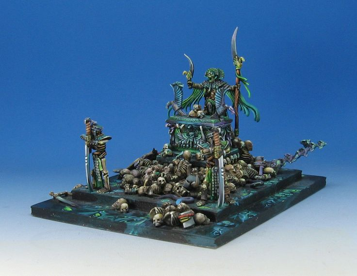 Hand Painted Miniature Khemri Fantasy GW Warhammer Tomb Kings OUT OF PRINT! OOP | eBay