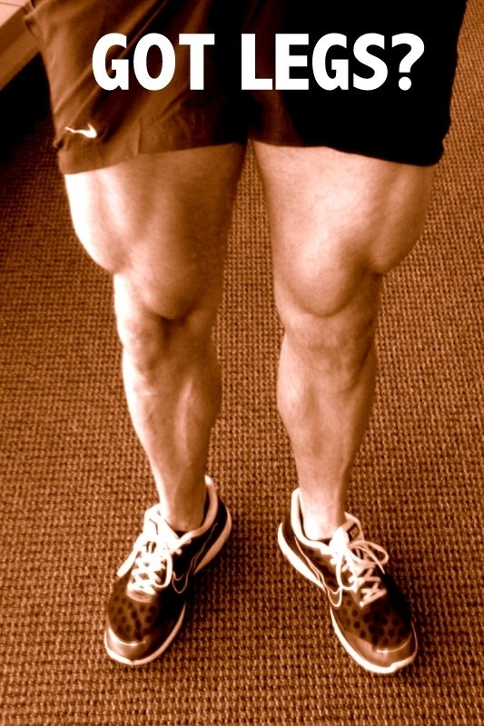 Colossal Legs Workout - Huge Calves and Quads (Video)