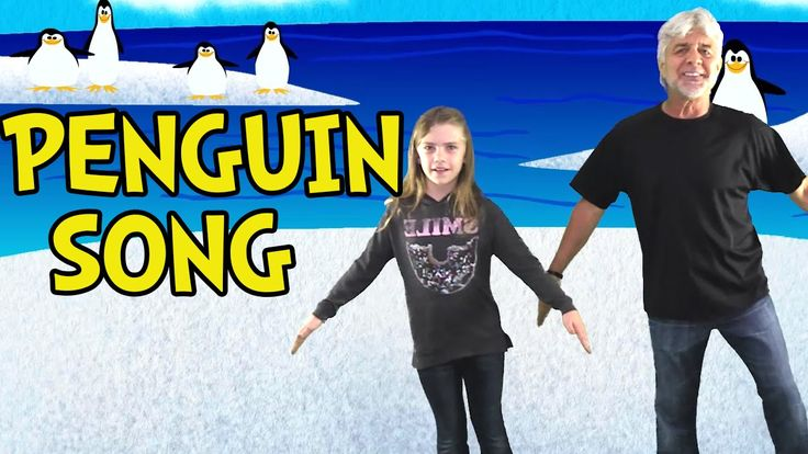Penguin Song - Penguin Dance Songs for Kids - Children's Songs by The Le...
