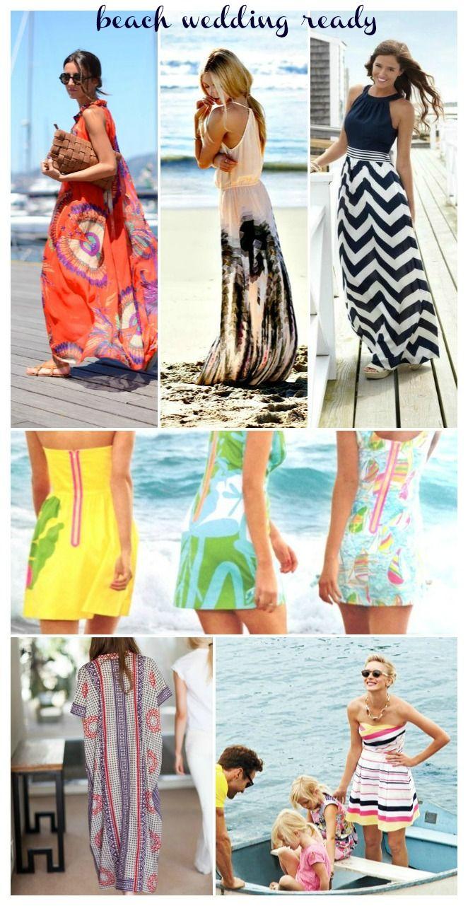 Shopping: Beach Wedding Ready * What to wear to a beach wedding * Beach Chic