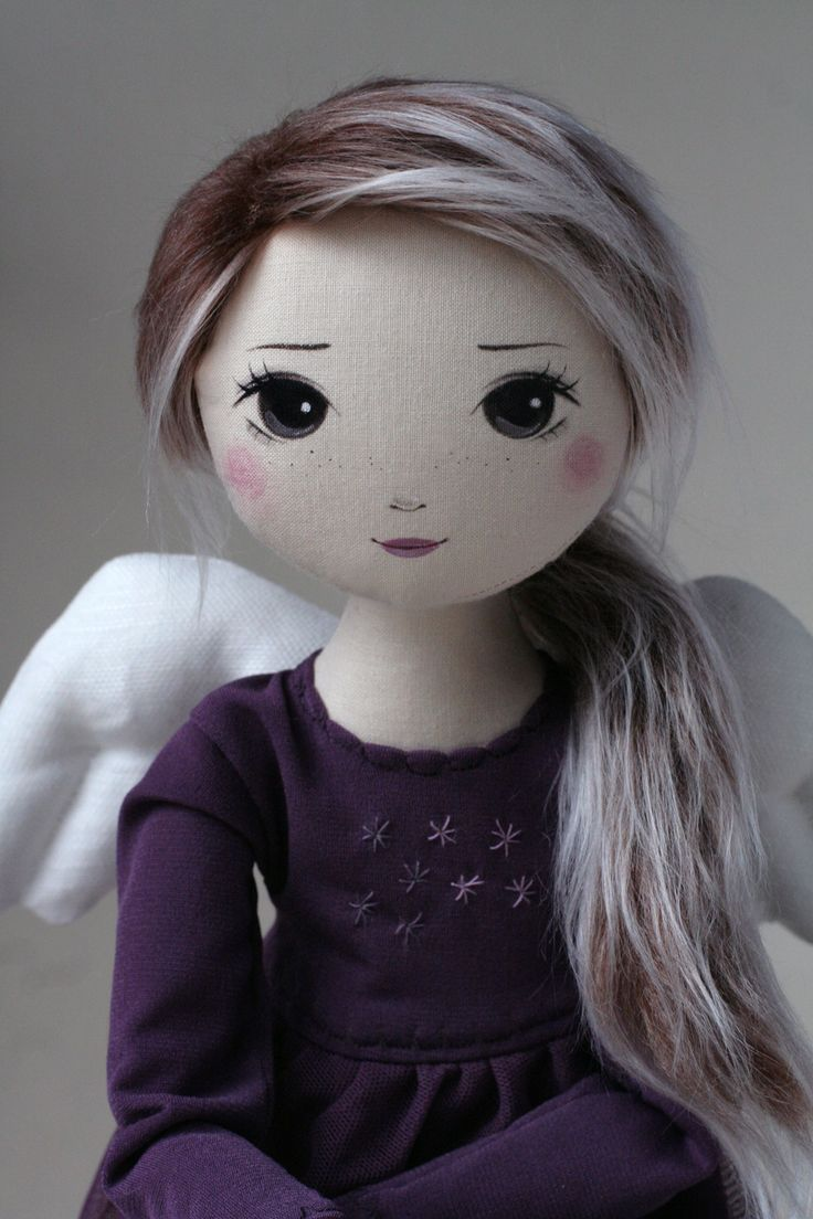 Astria – roma anielska, handmade doll by romaszop