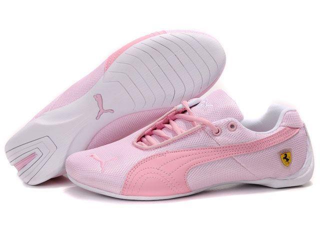 Puma-Ferrari-Drift-Cat-Womens-2010-Pink