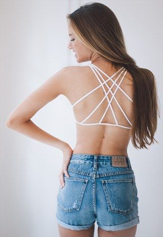 APOLLO+Bralette+-+White