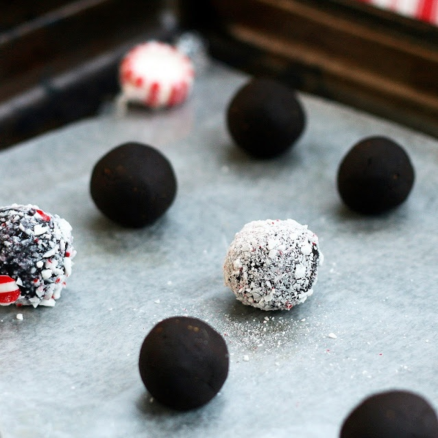 Peppermint Truffles | Desserts. | Pinterest | Truffles, Peppermint ...