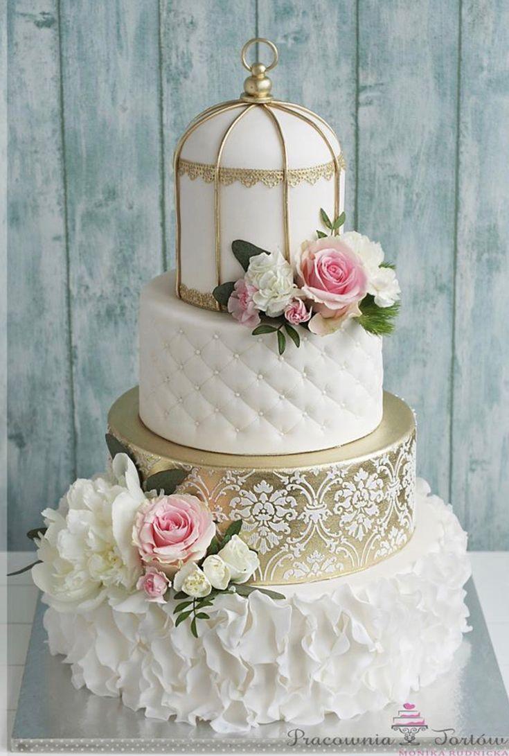 Vintage style wedding cake – Hochzeitsbilder ideen