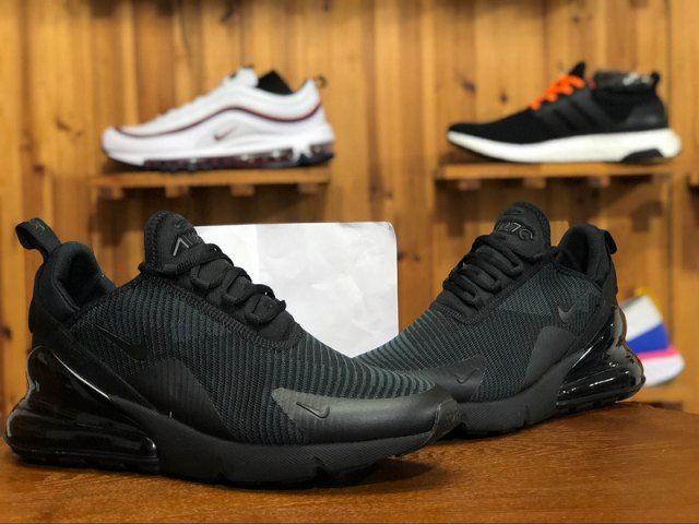 Unisex Nike W Air Max 270 Black Dark Grey AH6789 006 Men's