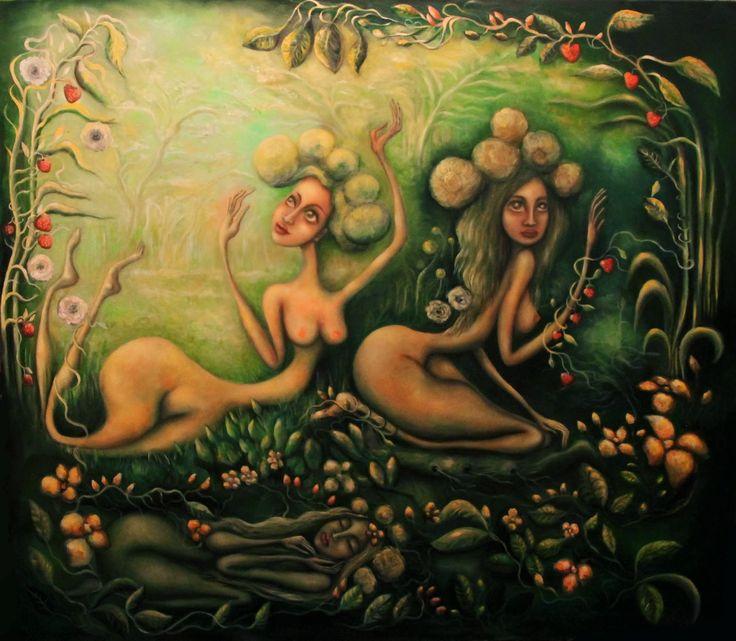 Paintings by Dana Stefania Apostol : Spring