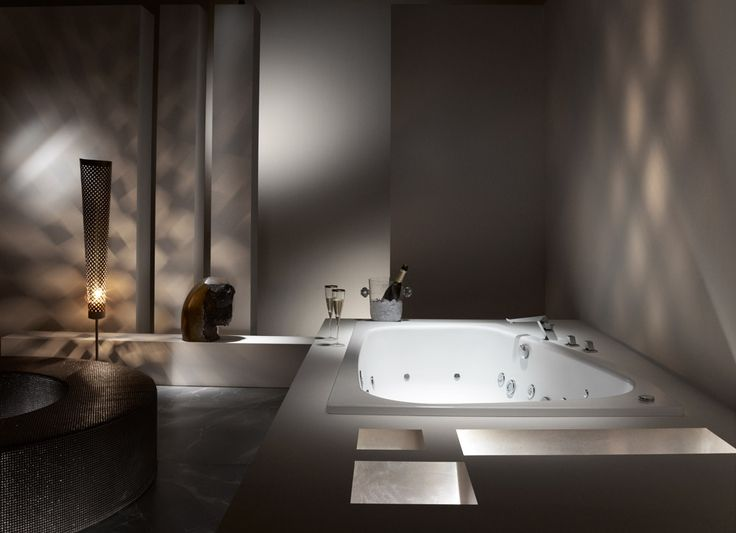 14 migliori immagini vasche idromassaggio su pinterest bagno termale design del bagno e jacuzzi - Vasche da bagno kaldewei ...