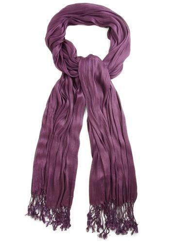 Crinkle in Time Scarf in Grape $15.99: Vintage Scarves, Women Fashion, Colour Modclothcom, Color, Vintage Scarfs, Mod Retro, Time Scarfs, Retro Vintage, Modcloth Com