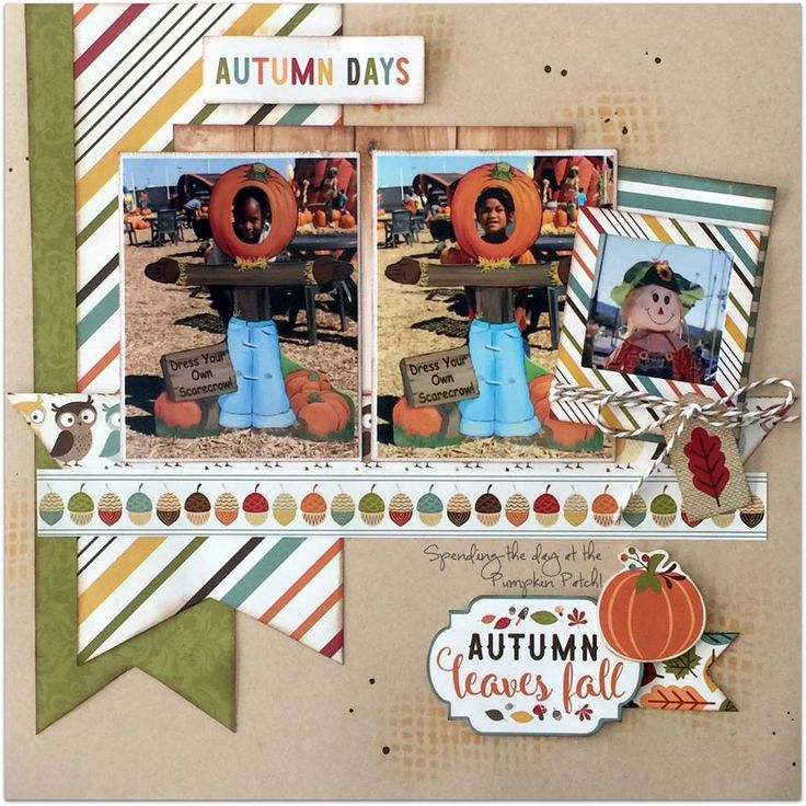 "The ScrapRoom Blog: Echo Park ""Fall is in the Air"" Page Kit Reveal"