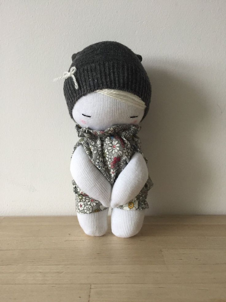 handmade doll by DWcraft on Etsy