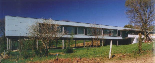 Centro saude Paderne   Sabin-blanco   Paderne (2003)