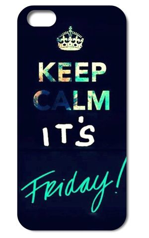 Дешевое Keep Calm and It's Friday style case for iPhone 4 5s 5c 6 Plus iPod touch 4 5 Samsung Galaxy s2 s3 s4 s5 mini Note 2 3 4 cases, Купить Качество Сумки и чехлы для телефонов непосредственно из китайских фирмах-поставщиках: Keep Calm and It's Friday style Clear Hard Back Cover case for iPhone 4s 5s 5c 6 Plus iPod touch 4 5 th Samsung Galaxy s