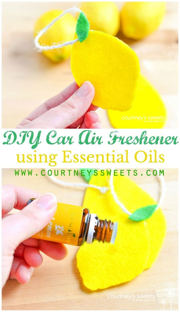 Diy car air freshener