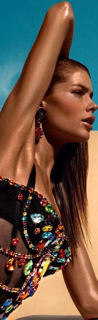 Bejeweled & Embellished, Doutzen Kroes by Solve Sundsbo