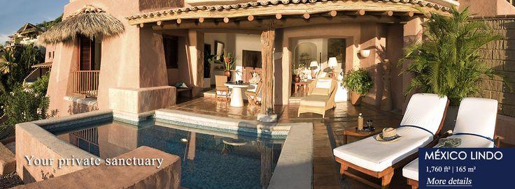 suites home : La casa que canta hotel Ixtapa Zihuatanejo : Luxury suite hotel Ixtapa Zihuatanejo, 5 stars suite hotel Ixtapa Zihuatanejo