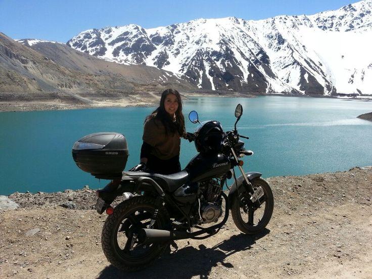 Euromoy jm150 embalse del yeso, cajon del maipo, Chile Motoquera de corazon