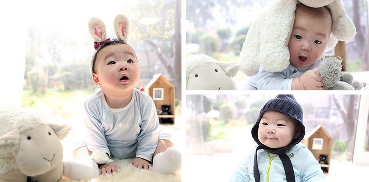 """Baaa~ it's the year of the sheep, according to lunar reckoning. Actor Song Il Gook sends his Lunar New Year greetings this year with adorable pictures of his pinchable triplets- Dae Han, Min Guk, and Man Se- surrounded by sheep. He wrote on his Twitter, """"2015, the Year of the Sheep, may ..."""