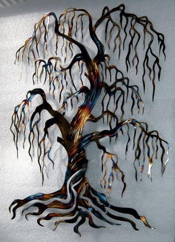 9 º aniversario sauce regalo árbol de la por HumdingerDesignsEtsy