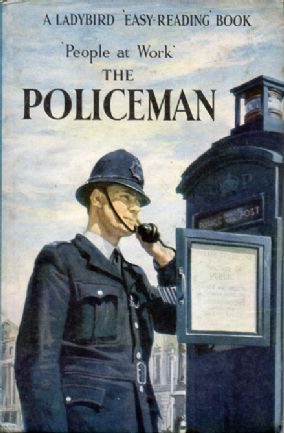 THE POLICEMAN a Vintage Ladybird Book People at Work 606B Matt Hardback 1965