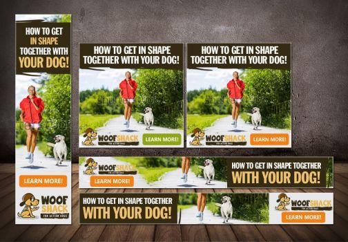 Creative and powerful Banner-Design for the dog sp by artblade477