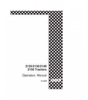 CASE IH 2120 2130 2140 2150 TRACTOR OPERATORS MANUAL