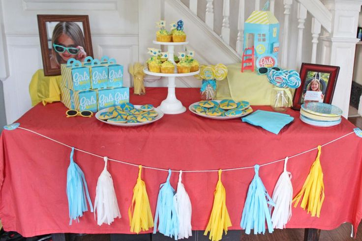 17 best images about party theme girls only no boys for Craft birthday party places