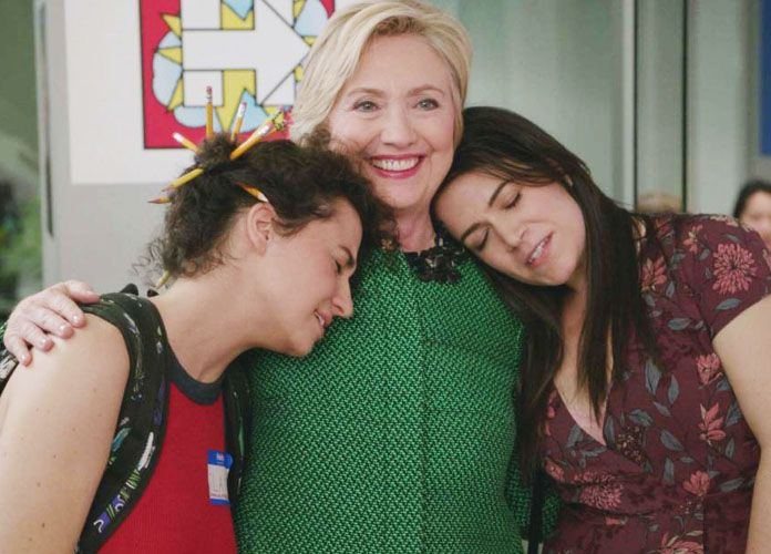 Abbi Jacobson On Hillary Clinton's 'Broad City' Cameo [VIDEO EXCLUSIVE]