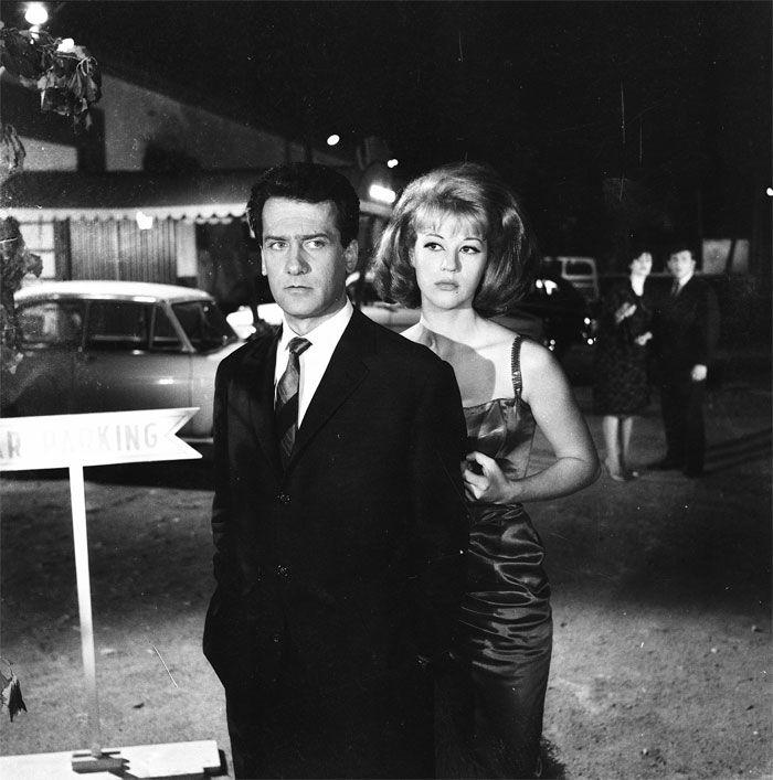 """Αλέκος Αλεξανδράκης, Ζωή Λάσκαρη στην ταινία του Γιάννη Δαλιανίδη """"ΕΝΑ ΚΟΡΙΤΣΙ ΓΙΑ ΔΥΟ"""" 1963"""