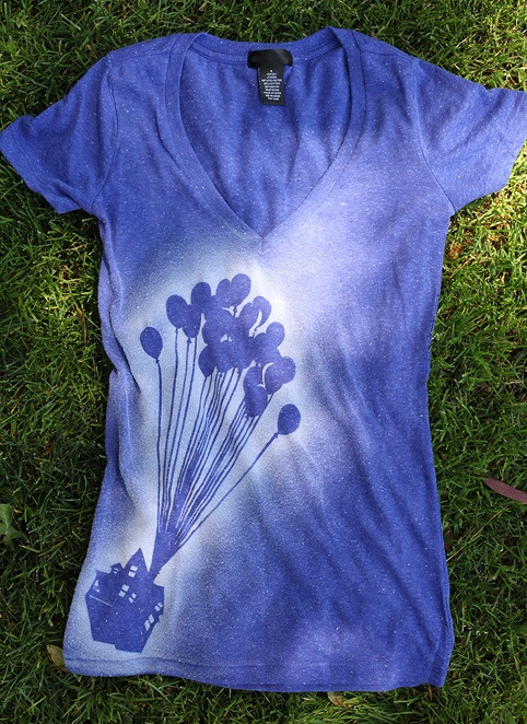 Adventure is Out There Shirt by Whosits & Whatsits.  Individually  air-brushed by hand.