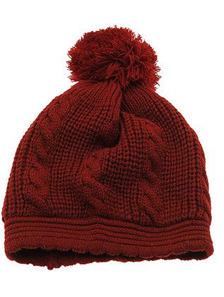 Hat And Cap Double Layered Winter Beanie Hat Ris20Kyh8183Bur0639